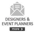 Designers and Event Planners