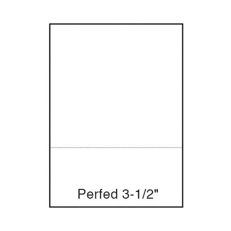 Performance® PERFECT White 24 lb. Bond Laser Copy Paper 8.5x11 in. 3.5
