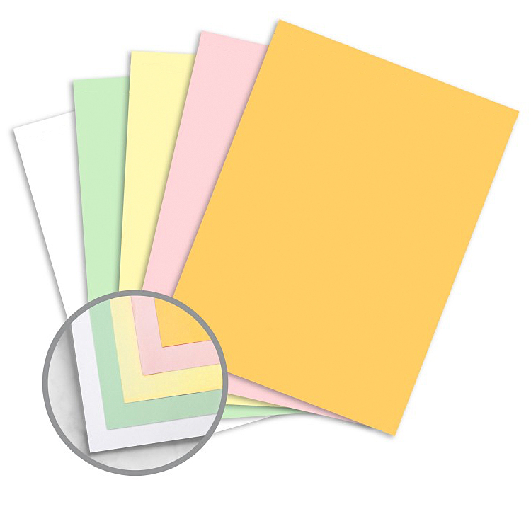 Glatfelter eXcel one® 60371 Heavyweight Carbonless Paper 5-Part Reverse Pre-Collated 8.5x11 in. 500 Sheets/100 Sets
