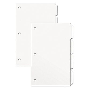 Xerox® Revolution White Tabs Smooth 90 lb. Index 9x11 in. 4-Bank Single Reverse Collated - Take 5 Packs for FREE Shipping!
