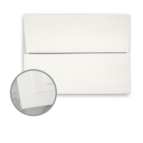 Wausau Paper Royal Linen Brilliant White 70 lb. A7 Envelope 250/Box - Sku: 29117 | 250 PER BOX
