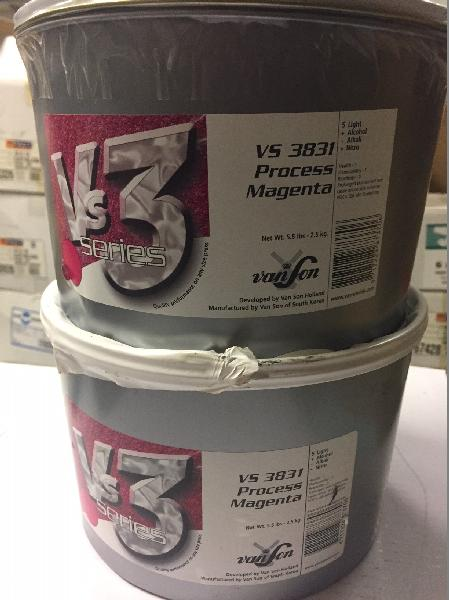 VanSon VS3 Process Magenta Soy Based Offset Ink - VS3831 Process Magenta