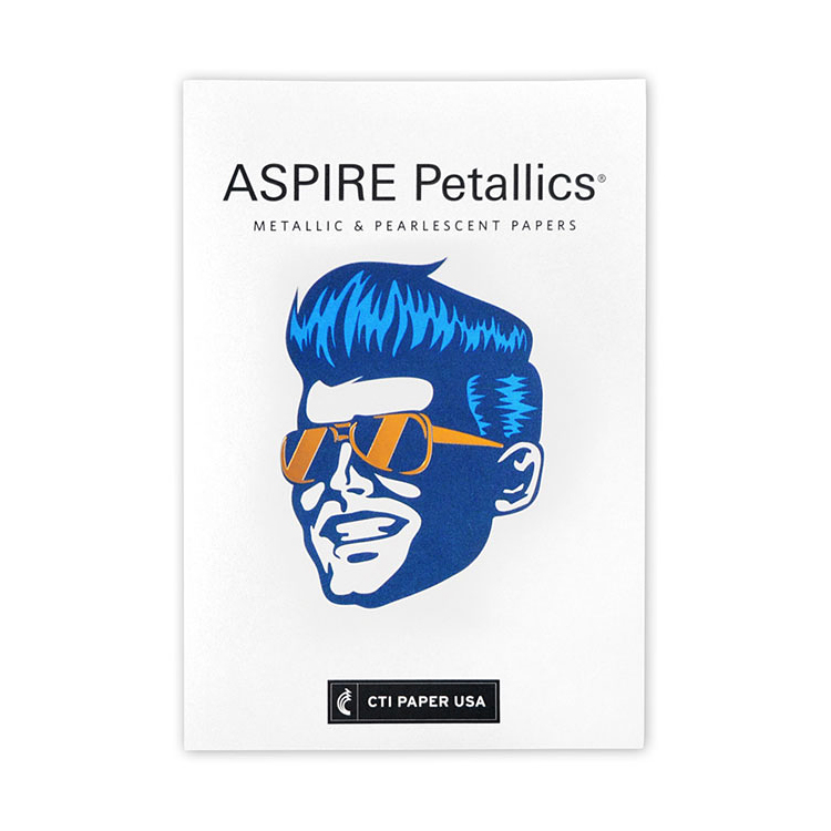 CTI Paper USA ASPIRE Petallics® Beargrass Metallic 98 lb. Cover 20.8125 x 29.5 in. 300 Sheets