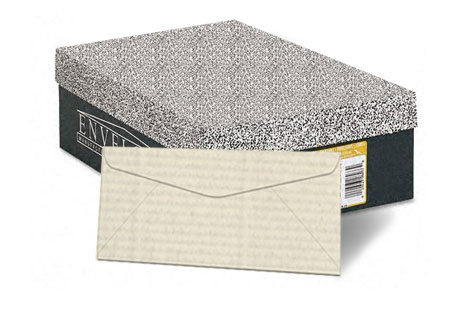 Neenah® Classic Laid Antique Gray 24 lb. Writing Monarch Envelopes 500/Box - SKU: 21483 | 500 PER BOX