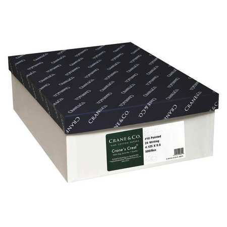 Crane & Co. Crane Continuum Chambray 100% Recycled Cotton DENIM 24 lb. No. 10 Envelopes 500 per Box