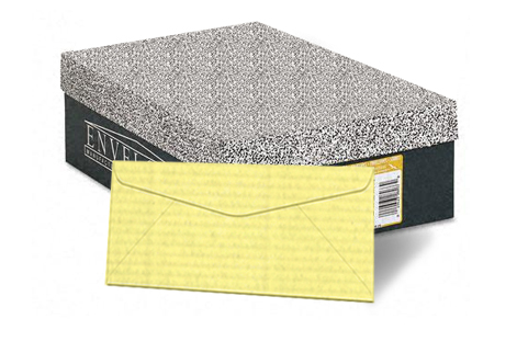 Neenah Classic Laid/Liberty Ivory Laid 24 lb. No.10 Regular Envelopes 2500/Case - Sku: 1034331EC