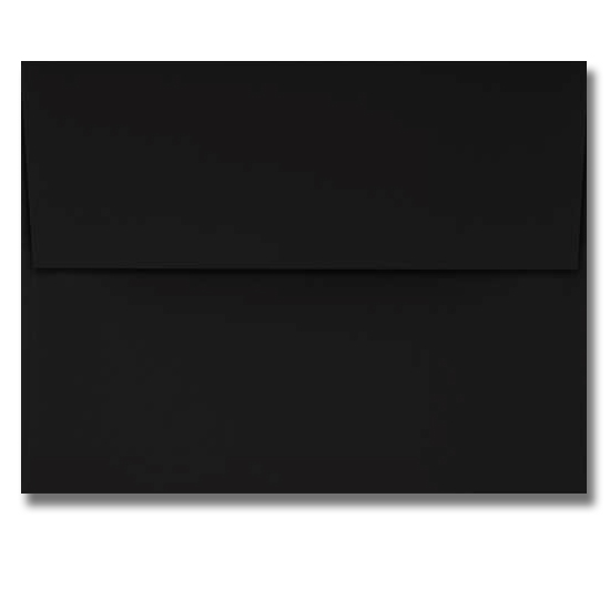 Fraser Papers® Pegasus Midnight Black Vellum 70 lb. Text A-2 Envelopes 250 Box
