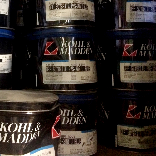 KOHL & MADDEN Soybrite® PMS-300 Blue Printing Ink