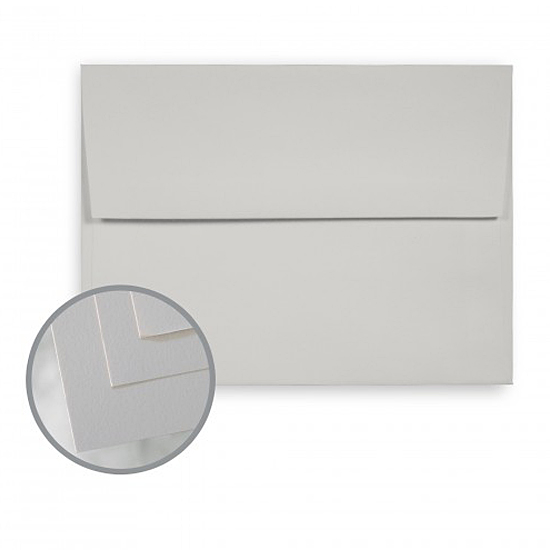 Mohawk® VIA Light Gray Smooth 70 lb. Text A-7 Envelopes 250/Box