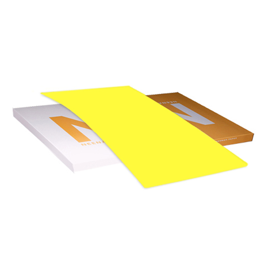 Neenah® Astrobrights™ Paper Lift-Off Lemon Smooth 65 lb. Cover 26x40 in. - Sku: 21025 | 200 SHEETS (LOT)