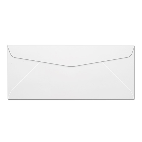 Neenah Paper Certificate Bond White Cockle 25% Cotton 20 lb. No. 10 Envelopes - Sku: 1579200 | 500 PER BOX