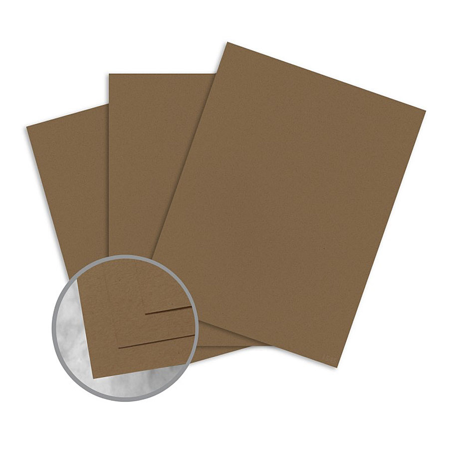 Neenah® ENVIRONMENT Raw Grocer Kraft Card Stock 80 lb. Cover 26x40 in. 30% Recycled - Sku: 45154 | 300 SHEETS PER CARTON