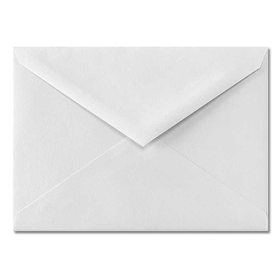 Williamhouse® Bright White Vellum 24 lb. 4 Bar Baronial Envelopes 3.625 x 5.125 in. 250