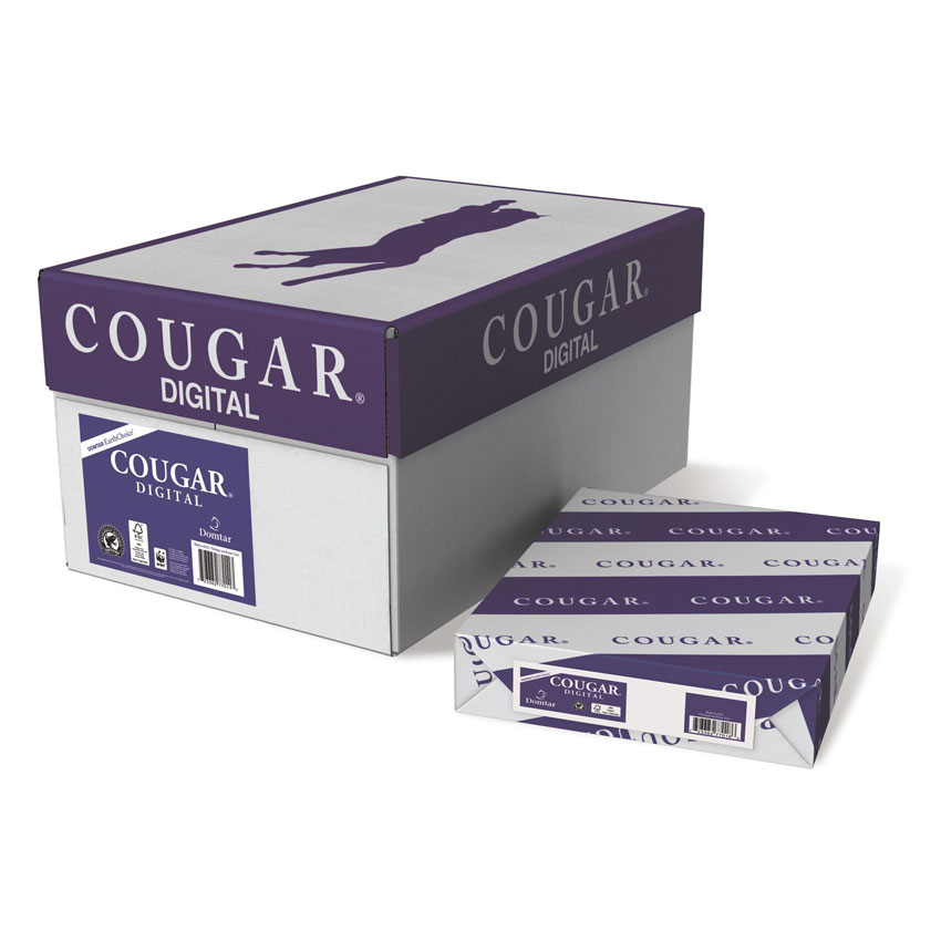 Domtar® Cougar Digital Natural Smooth 65 lb. Cover 11x17 in. 250 Sheets per Ream