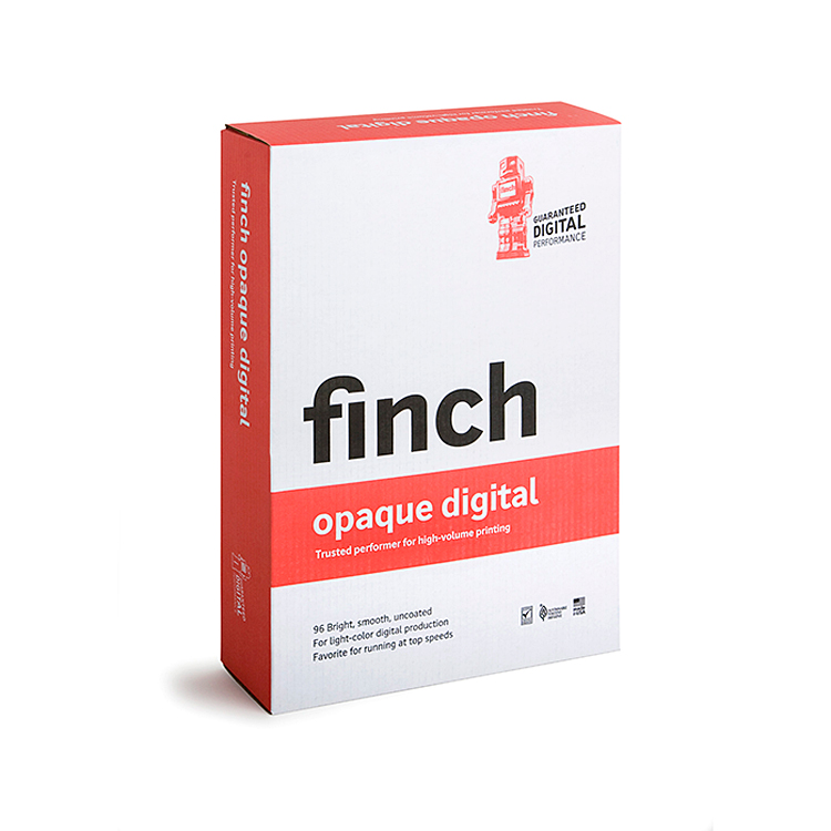 Finch Paper® Bright White Smooth 80 lb. Text 23x35 in. 1100 Sheets per Carton - Sku: 1000-8060 | 1100 SHEETS PER CARTON