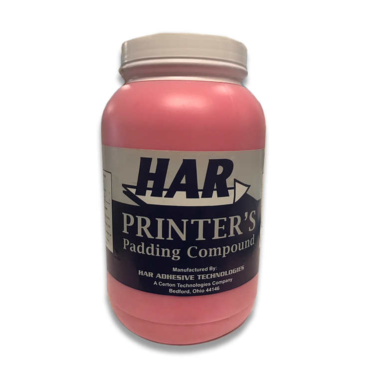 Har Adhesives® ChamPADco® RED Padding Compound Glue One (1) Gallon - Sku: 26396G | ONE (1) GALLON