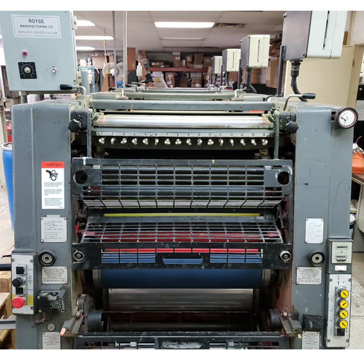 Heidelberg GTO v52 4-Color 14x20 in. Offset Printing Press - Location: Northern New Jersey