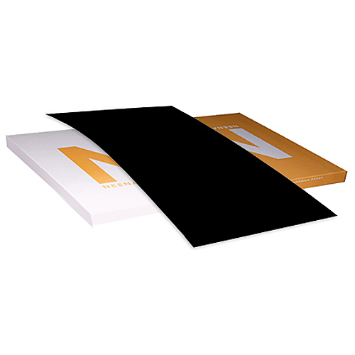 Neenah Paper® Classic Crest Epic Black Smooth 80 lb. Text 25x38 in. 750 Sheet Carton