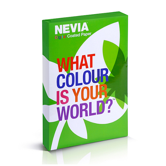 Nevia Impression Digital White 24# Uncoated Color Copy Paper 11x17 2000 Sheets per Carton