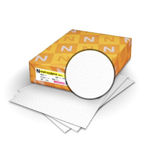 Neenah® Royal Sundance Ultra White FELT Digital 100 lb. Cover 18x12 in. 250 Sheets per Ream