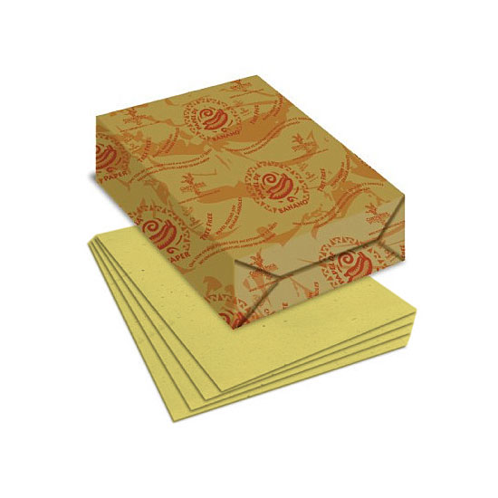 TREE FREE ORGANIC LEMON Paper 200 gsm 100% Recycled 8.5x11 in. 100 Sheets per Pack - Sku: LM8511200 | 100 SHEETS PER PKG