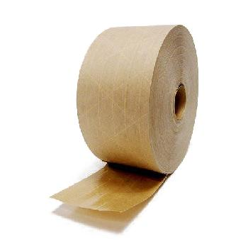 IPG Central® 240 Reinforced Kraft Water Activated Tape 72mm x 450' Roll 1/Roll - SOLD BY THE ROLL OR CARTON