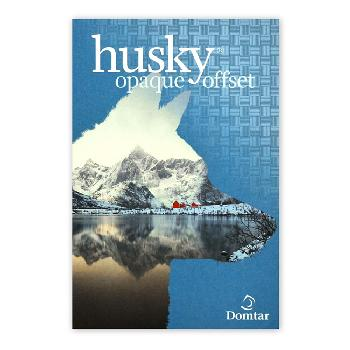 Domtar® HUSKY Opaque White Offset 60 lb. Text 25x38 in. 8500 Sheets per Skid