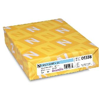 "Neenah Paper® Classic Crest ""Avon Brilliant White"" Smooth 28 lb. Writing 8.5x11 in. - Sku: 01553 