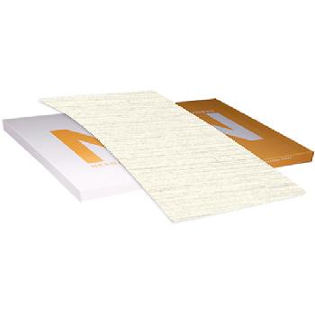 Neenah Paper® Classic Linen Bare White Linen 100 lb. Cover 26x40 in. 200 Sheets