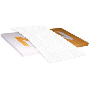 Neenah Paper OXFORD Texture White 100 lb. Cover 26x40 in. 250 Sheets per Carton