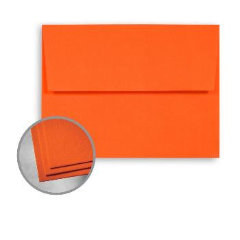 Wausau Paper® Astrobrights Orbit Orange Smooth 60 lb. A-6 Announcement Envelopes 250