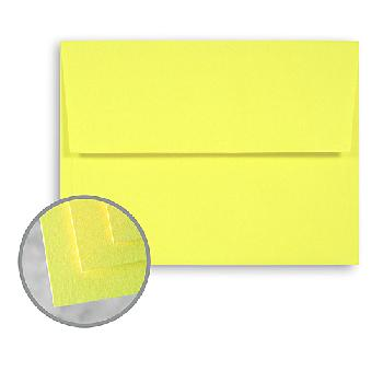 Wausau Papers® Astrobrights Solar Yellow 60 lb. Text A-10 Announcement Envelopes 250