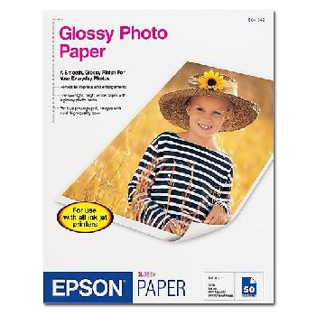 Epson® Glossy Photo Paper 8.5x11 in. 20 Sheets per Pack