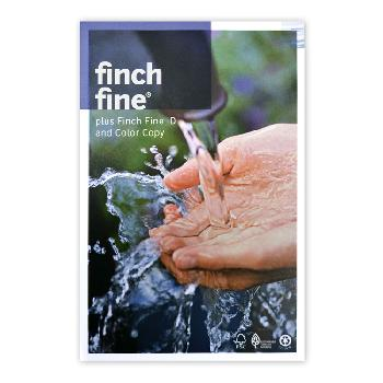Finch Paper® Finch Fine Bright White Ultra Smooth 80 lb. Text 25x38 in. 1000 Sheets/Carton - Sku: 1020-8066 | 1000 SHEETS PER CARTON